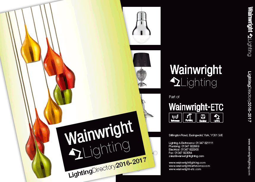Wainwright ETC - Lighting Catalogue Design